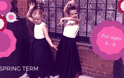 Kids Flamenco Class – Spring Term