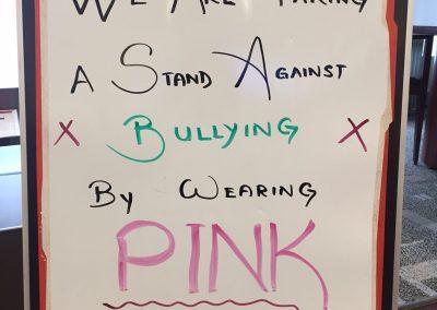 Pink Shirt day 3