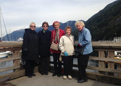 Seniors outtrip- horseshoe bay- March 2014- 2