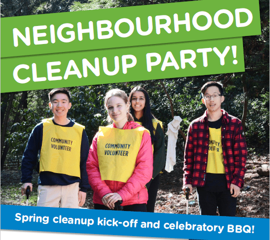 Neighbourhood Cleanup Party!