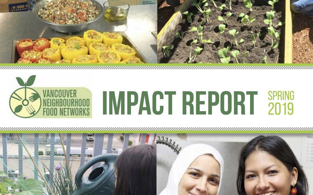 Vancouver Neighbourhood Food Networks spotlights 109,900 Meals shared in the Community!