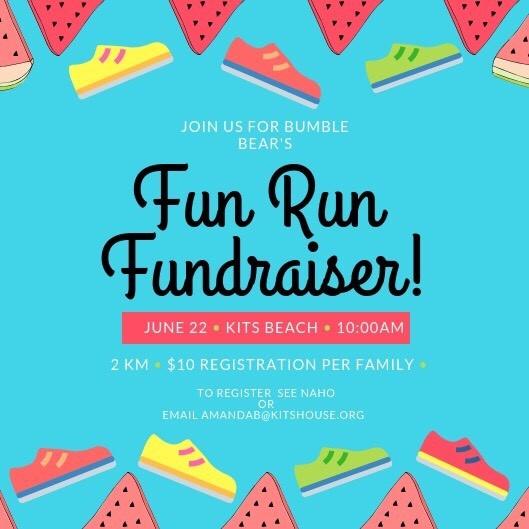 Bumble Bear's Fun Run Fundraiser