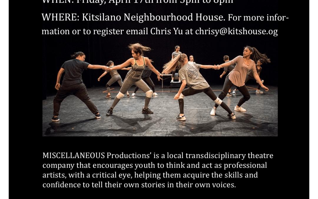 Free Hip-Hop Dance Workshop